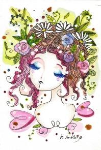 jardim rosa